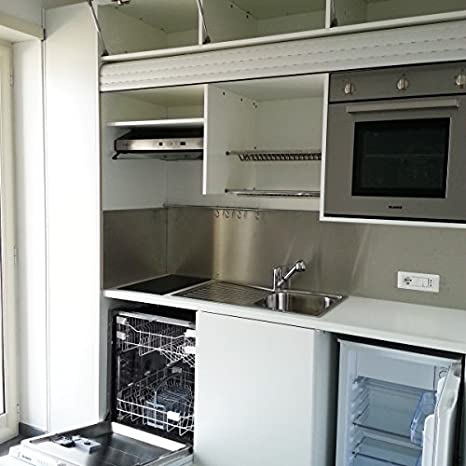 Night&Day Cucina completa di elettrodomestici 246cm salvaspazio ...