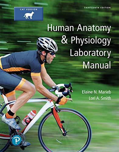 Pearson Cats - Human Anatomy & Physiology Laboratory Manual, Cat Version