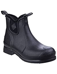 Muck Boots Unisex Wear Stable Yard Boot (5 M US / 6 W US) (Black/Black)