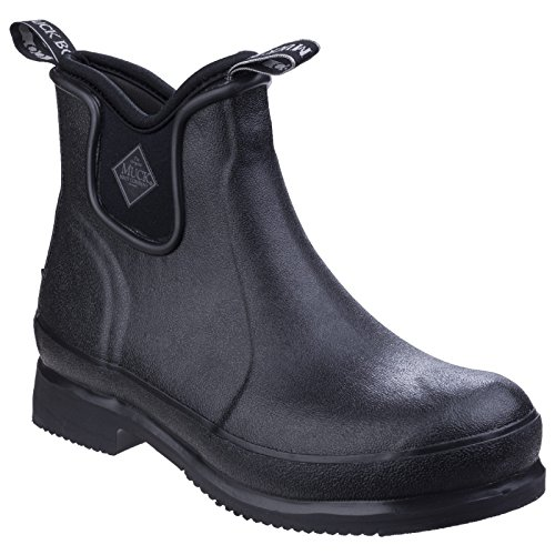 Muck Boot Unisex Wear Stable Yard Boot (10 M US / 11 W US) (Black/Black) ()