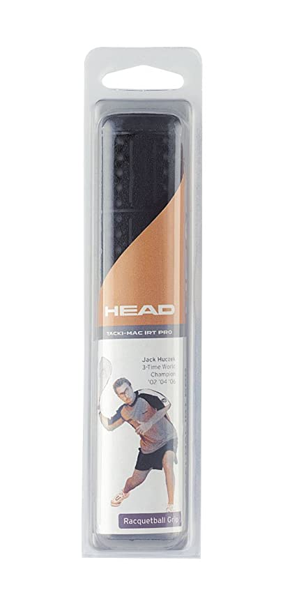 HEAD Tacki Mac IRT Pro Racquetball Grip, Black
