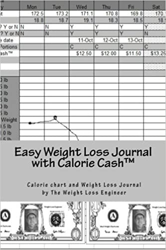 easy weight loss journal with calorie cashtm the easy to use