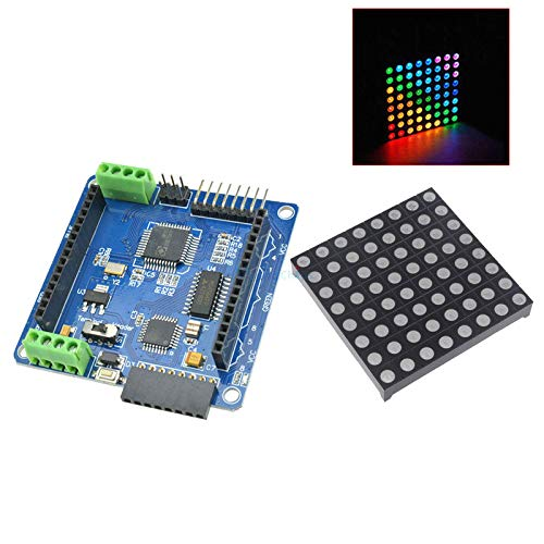 Amazon.com: 8x8 88 RGB LED Matrix Module Driver Board + Full ...