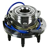 2007 For GMC Sierra 1500 Front Wheel Bearing and Hub Assembly x 2 (Note: Threaded Mounting Flange - 6 Stud - 4X4/AWD Applications Only)