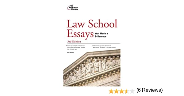 Law school essays that made a difference good ways to conclude an essay