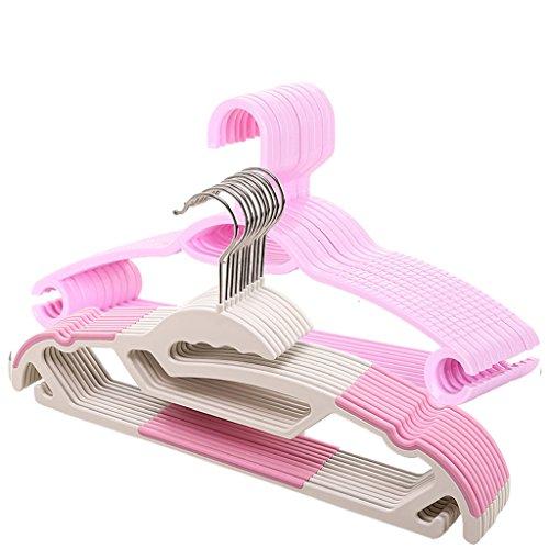 LXY Adult Hanger Drying Rack Plastic Hanger Seamless Clothin