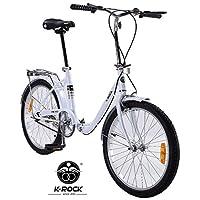 Bicicleta Plegable Ultra Ligera Krock Retro Vintage R22 Velocidades Shimano