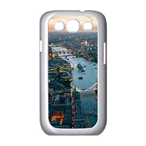 Cases for Samsung Galaxy S3, London Aerial View Cases for Samsung Galaxy S3, Tyquin White