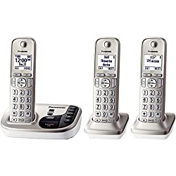 Pankxtgd223n - Panasonic Kx-tgd223n Dect 6.0 Plus Expandable Digital Cordless Answering System (3-handset System)