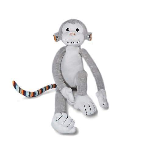 68235fced688 Amazon.com: Zazu Kids Nightlight Plush Toy - Max The Monkey Stuffed ...