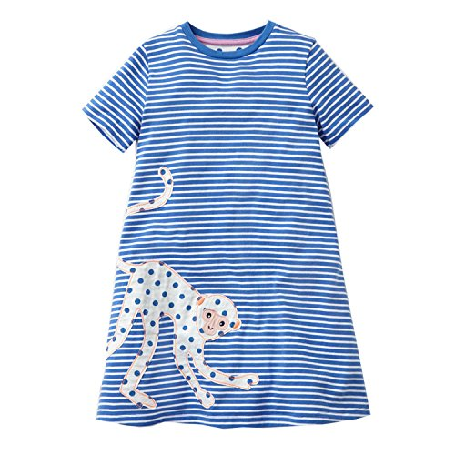 Perfectme Children Clothing Baby Girls Dress 2018 Brand Summer Floral Dresses Vestidos Girl Princess Dress Kids Costumes,85,5 -