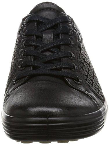 Ecco Soft 7, Sneakers Basses Femme Noir (55351Black/Black)