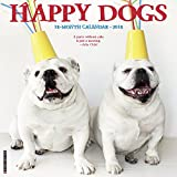 Happy Dogs 2018 Wall Calendar