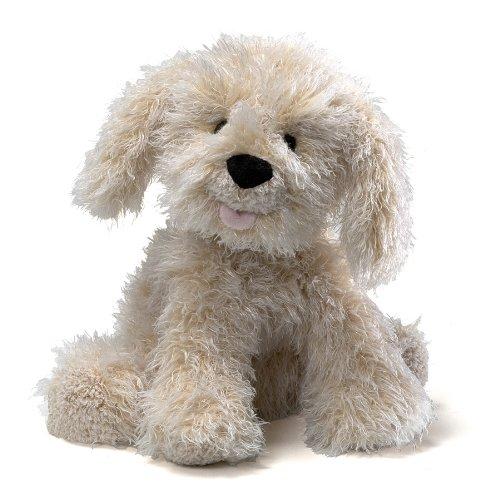 GUND Karina Labradoodle Dog Stuffed Animal Plush, - Toy White Dog Gund