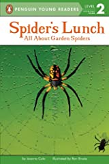 Spider's Lunch: All About Garden Spiders (Penguin Young Readers, Level 2) Kindle Edition