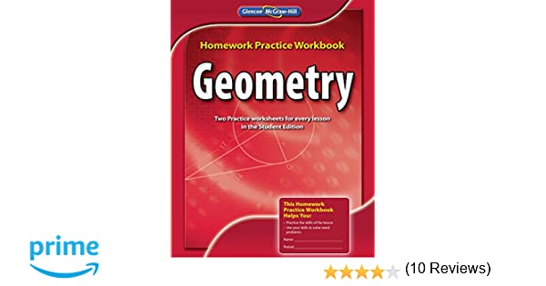 Amazon.com: Geometry, Homework Practice Workbook (MERRILL GEOMETRY ...