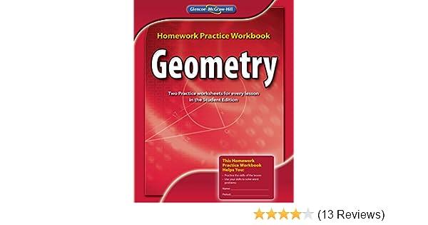 glencoe mcgraw-hill homework practice workbook geometry answers