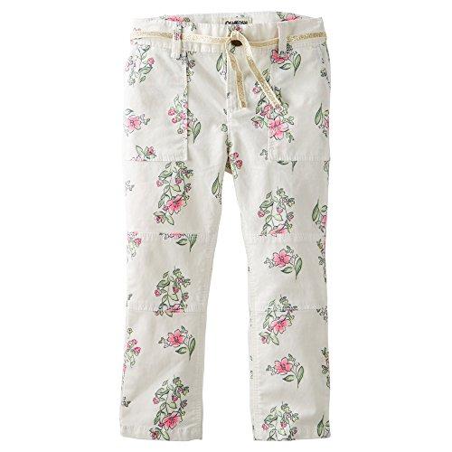 OshKosh B'gosh Toddler Girls Skinny Field Twills/Pants (3t, Ivory - Oshkosh Jeans Kids
