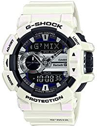 G-Shock GBA-400-7C G'MIX Music Series Luxury Watch - White / One Size