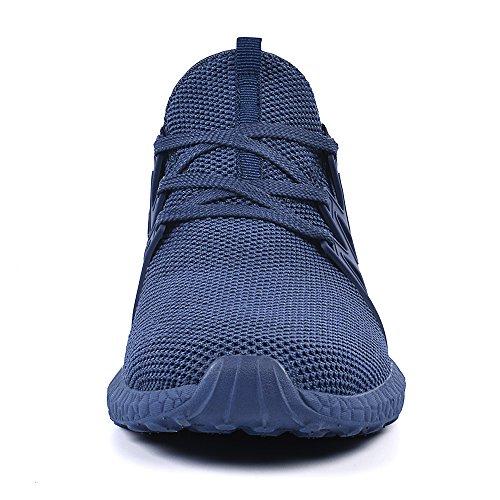 Azul Deportivos Deporte Zapatos Hombre de QANSI Zapatillas Libre Casuales Aire al aSvBESxqw