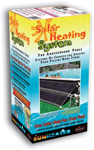 Sunheater 40 Sq Ft Above Ground Pool Solar Heating System
