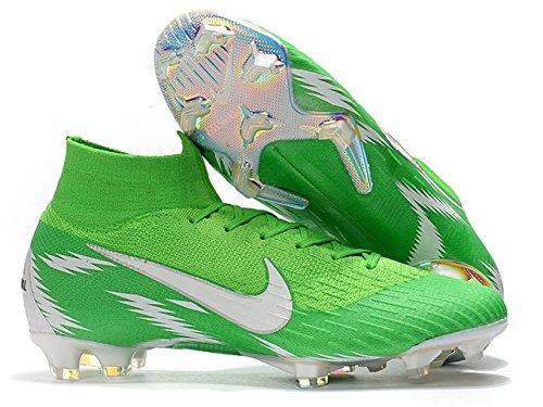 High Ankle Men's Mercurial Superfly VI 360 Elite FG Soccer Cleats Green/White – DiZiSports Store