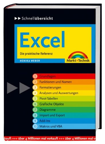 Excel: Die praktische Referenz (Schnellübersichten)