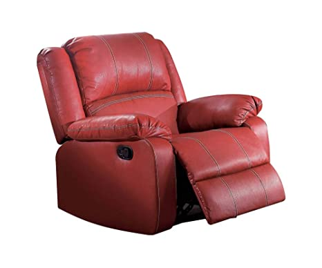 Amazon.com: Acme Muebles Zuriel Rocker – Sillón reclinable ...