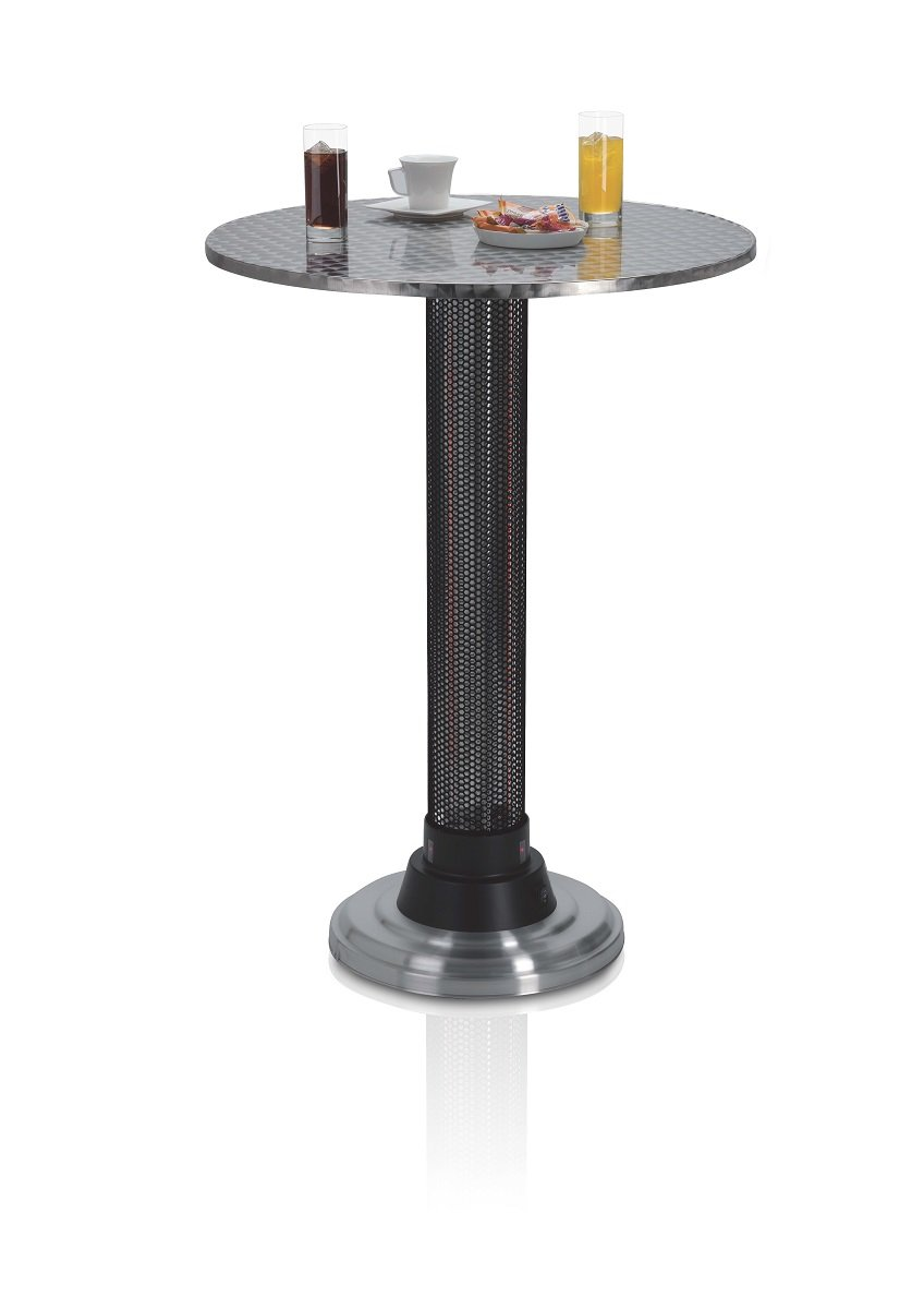 Coffee Table Heater Part - 15: Amazon.com : AZ Patio Heaters Electric Table Heater For Indoor-Outdoor :  Portable Outdoor Heating : Garden U0026 Outdoor
