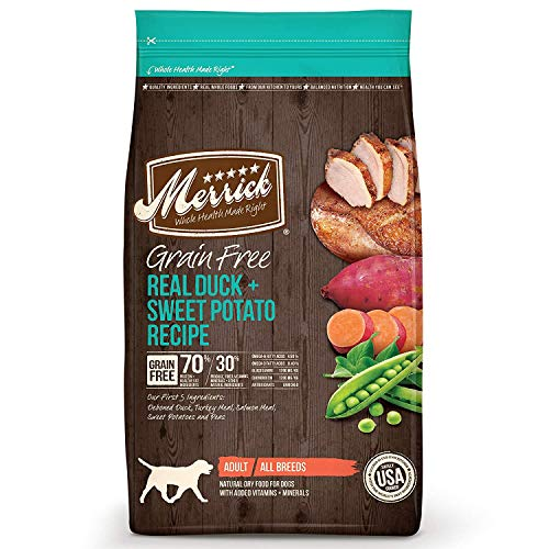 Merrick Grain Free Real Duck & Sweet Potato Dry Dog Food