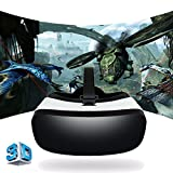 All in One VR Headset OCTA CORE Allwinner H8 SVR-A9 Video Games IMAX Movie 3D Glasses Virtual Reality Headset Google Play Store Support 360 Degree View WiFi HDMI Bluetooth TF Card APP