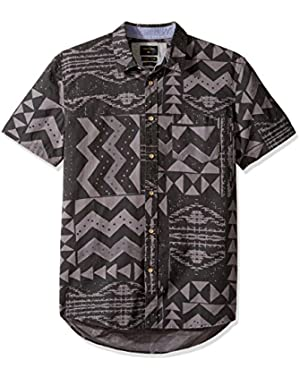 Men's East Cape Crowns Short Sleeve Woven Top
