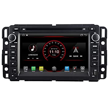 Autosion Touch Screen Android 8.1 Car DVD Player GPS Navigation Stereo for GMC Yukon 2007-