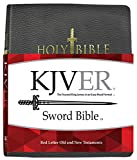 img - for KJVER Sword Study Bible Giant Print Black Genuine Leather Indexed: King James Version Easy Read book / textbook / text book
