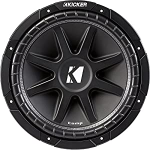 "Kicker 43C124 12"" 300W 4-Ohm COMP Series Car Audio Sub Subwoofer C12"