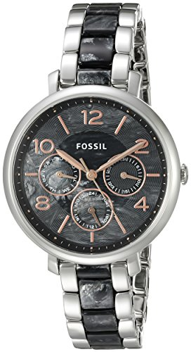 Fossil Women's ES3924 Analog Display Analog Quartz Silver-Tone (Silver Tone Analog)