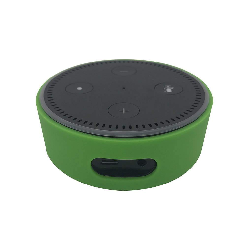 KaariFirefly Silicone Case for  Echo Dot,Silicone Case Station Holder Fit for Echo Dot 2nd Generation Blue