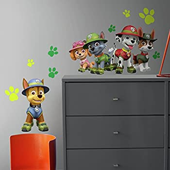 Amazon Com Personalized Paw Patrol Kids Name Wall Decal Baby