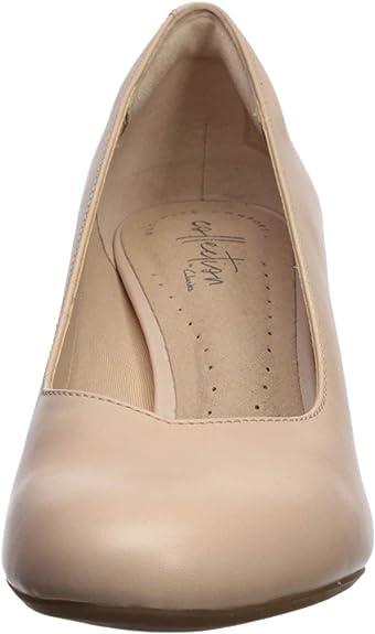 Ladies Clarks Dancer Nolin Smart Court Shoes D Fitting