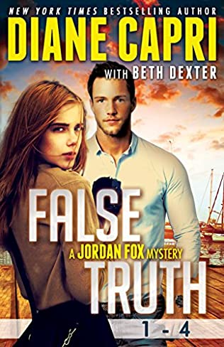 book cover of False Truth 1 - 4: A Jordan Fox Mystery Boxed Set