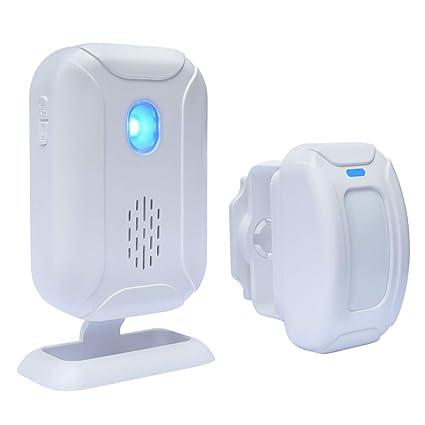 WiHoo - Alarma inalámbrica para puerta de seguridad en casa, alarma inalámbrica con sensor de