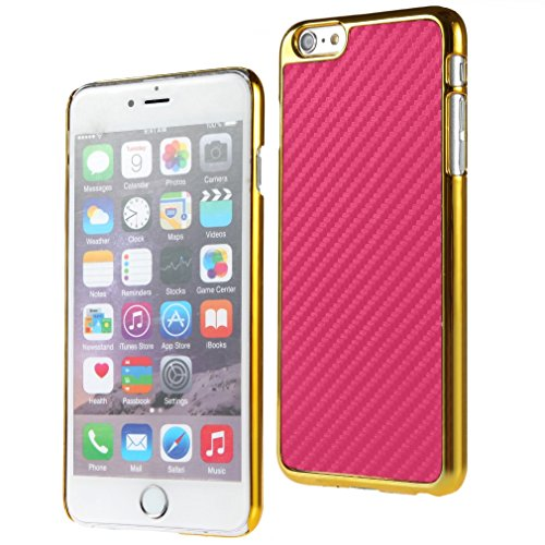 Bralexx Case für Apple iPhone 6 Plus 14 cm (5,5 Zoll) gold/pink/carbon