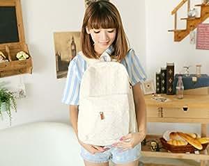 Amazon.com : Money coming shop Women Lace Backpacks Canvas