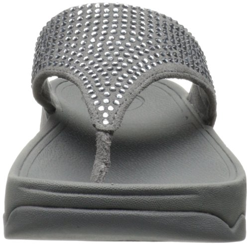 Fitflop Rokkit Tm, Women's Flip Flop Sandals Grey