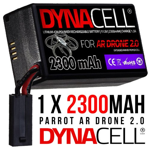 2300mAh Upgrade Battery for Parrot AR Drone 2.0