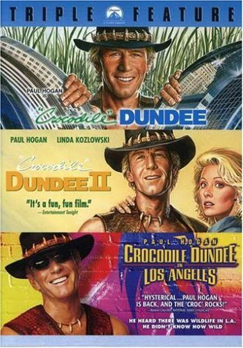 Crocodile Dundee Triple Feature (Crocodile Dundee / Crocodile Dundee II / Crocodile Dundee in Los Angeles) by Paul Hogan