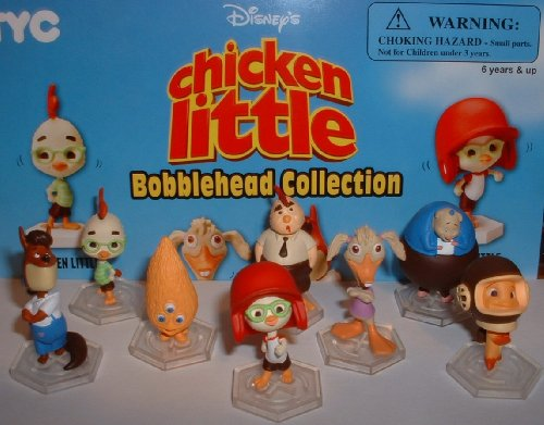 Chicken Little Bobblehead Vending Machine Figure Collection (Chicken Little Figures compare prices)