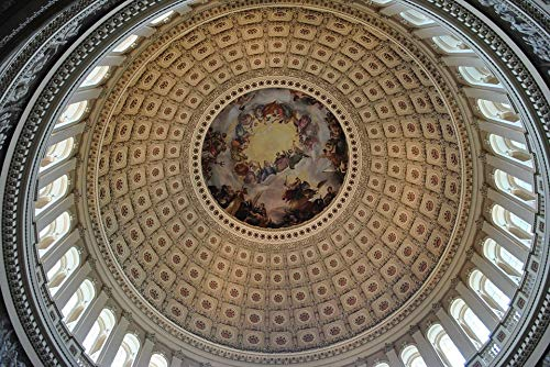 Photography Poster - Us Capitol, Dome, Architecture, 24