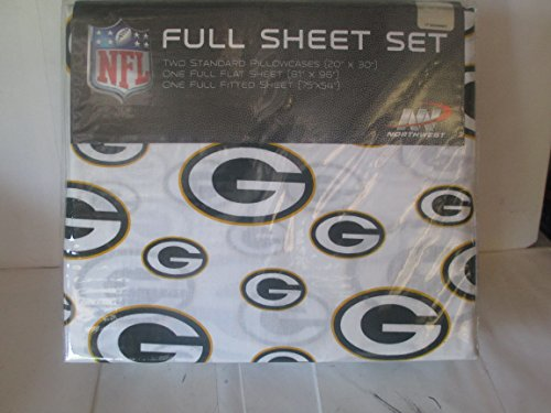Green Bay Packers Full Sheet Set 4 - Sheet Green Packers Bay Set