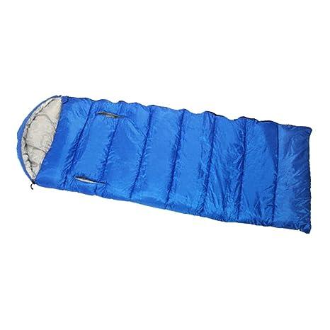 Baoblaze 1 Pedazo Saco de Dormir con Organizador Multiusos Excurnismo Ligero con Organizador - Azul: Amazon.es: Deportes y aire libre